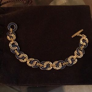 Coach Bracelet With Crystal Accents